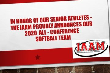 In Honor of our seniors, the IAAM proudly announces the 2020 Softball Conference Team