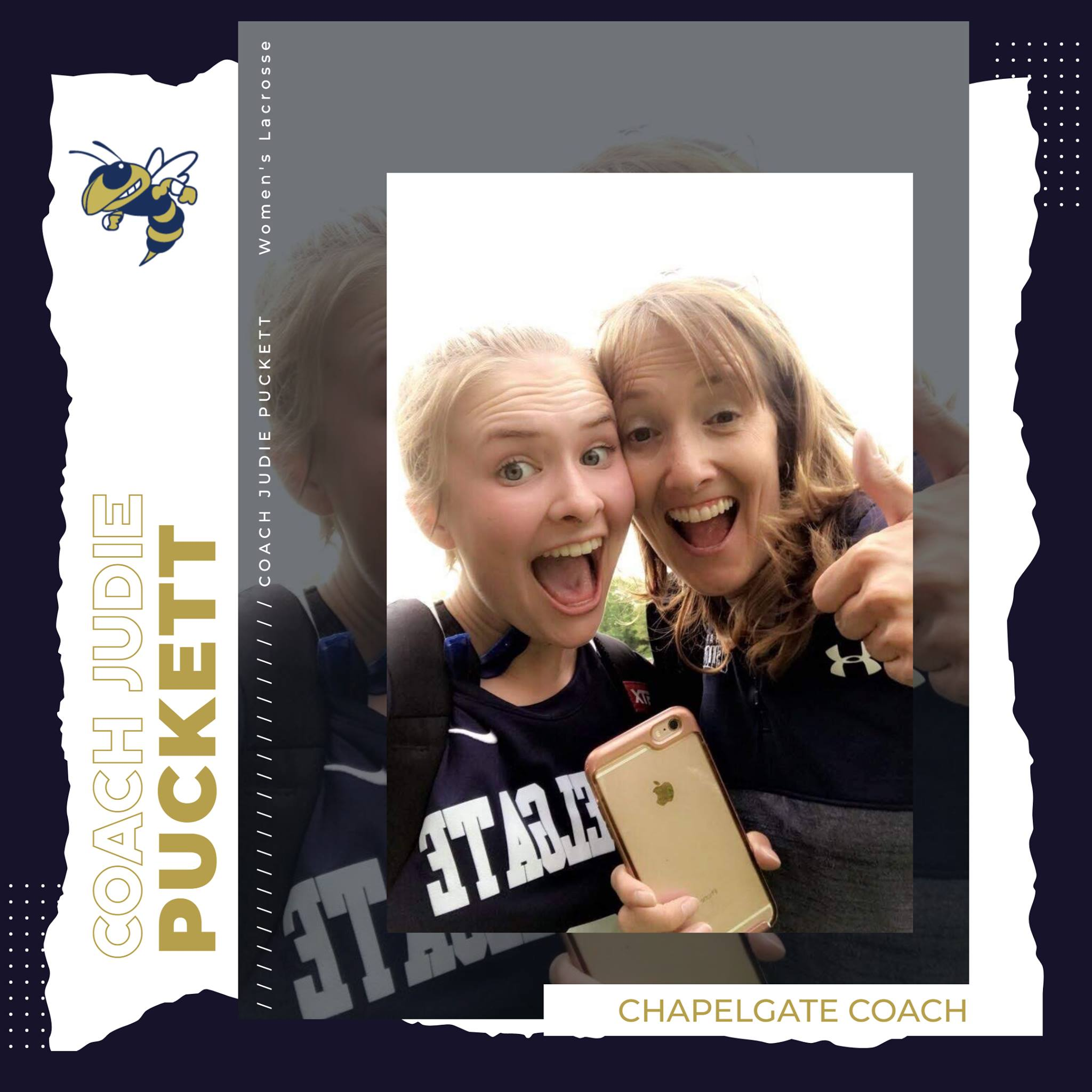 Secret Lives of CCA Coaches – Judie Puckett – Coach Puckett has been the Yellow Jack…