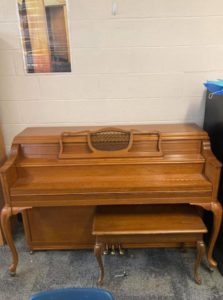 Piano for sale!! No longer needed in classroom. Recently tuned. Price negotiable. Message if…