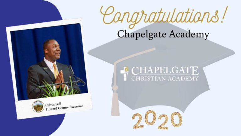 Congratulations Chapelgate Academy from Calvin Ball