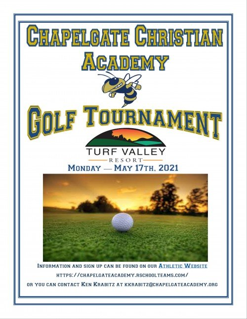 2021 CCA Golf Tournament Date – May 17th, 2021